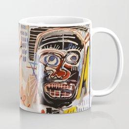 A vectorised Basquiat Coffee Mug