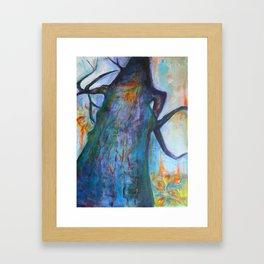 She Tree Framed Art Print