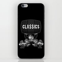 gaming iPhone & iPod Skins featuring Classic Gaming by A Strom