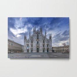 MILAN Cathedral Santa Maria Nascente Metal Print