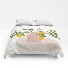 Lemon Branches Comforters