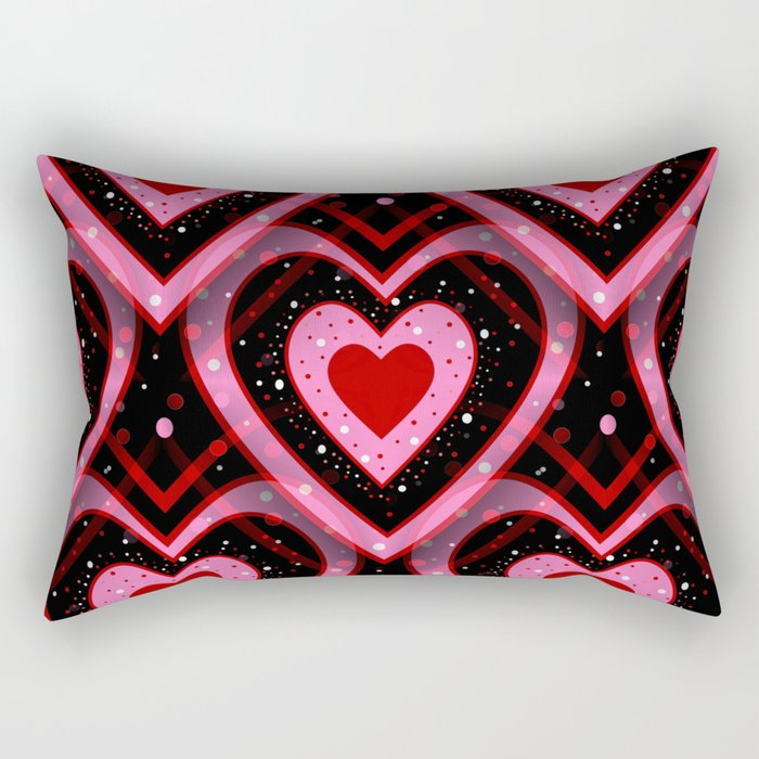 Heavenly Hearts Rectangular Pillow
