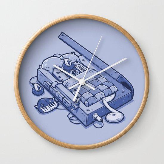 TAPE NAP Wall Clock