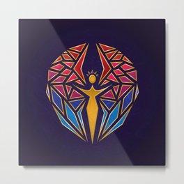 Arcane Angel Metal Print