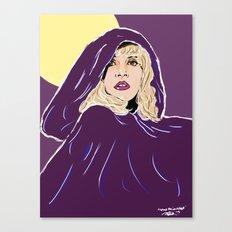 Wrap Her In Velvet Canvas Print
