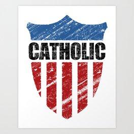 Catholic Art Print