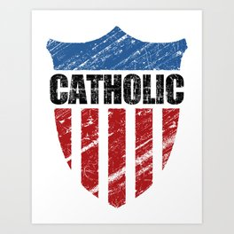 Catholic Art Print