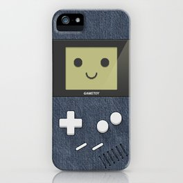 GAMETOY - Jeans - Game Boy, toy, Gameboy iPhone Case