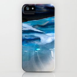 Blue Scape iPhone Case