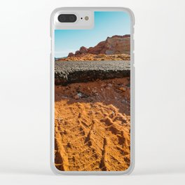 Beginning of the Road Clear iPhone Case