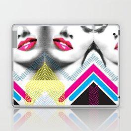 Pop Art Girl Laptop & iPad Skin