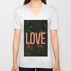 LOVE in the Forest Unisex V-Neck