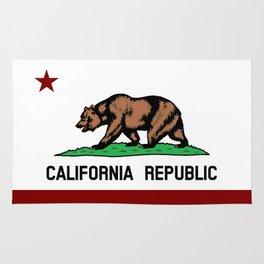 California Flag Rug