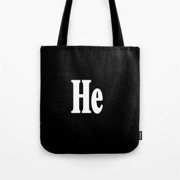 He Tote Bag