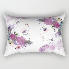 Like a bird Rectangular Pillow