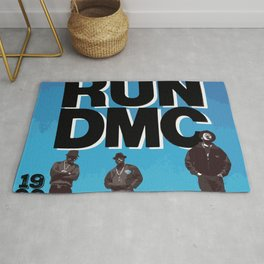 RUN-DMC-1988 Rug