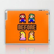 Super Mario Bros Before Hoes Laptop & iPad Skin