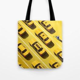 New York Cabs Tote Bag