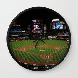 Baseball Mets Field Wall Clock