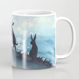 Blue Bunnies Coffee Mug