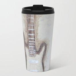 Brown Guitars  Travel Mug