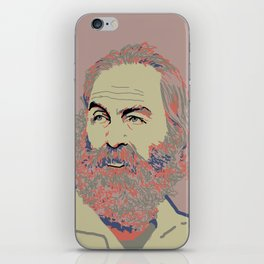 Walt Whitman iPhone Skin