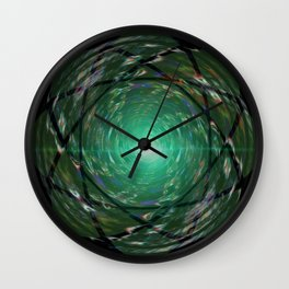 Sacred Forest Garden Wall Clock