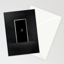Planetary door Stationery Cards