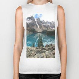 Alberta Mountain Range by Matt Thomason Biker Tank