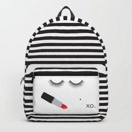 Lipstick & Lashes Backpack