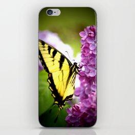 Swallowtail Lilac iPhone Skin