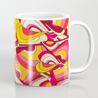 psychadelic Mugs featuring o emilio by Norma Lindsay