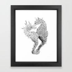 Seahorse 2 Framed Art Print