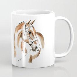Bay Watercolour Horse Coffee Mug