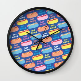 Hot Dawg Wall Clock
