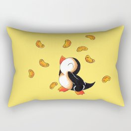 Macaroni Penguin Rectangular Pillow