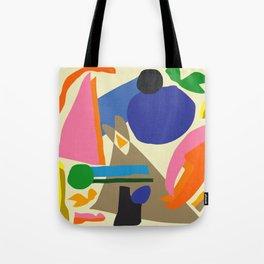 Abstract morning Tote Bag