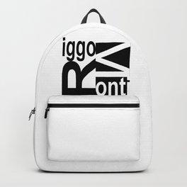 Riggo Monti  Design #8 - Riggo Monti Deco Tile Design Backpack
