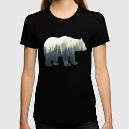 Misty Forest Bear T-shirt
