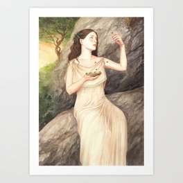 Melissa ~ A Compendium Of Witches Art Print