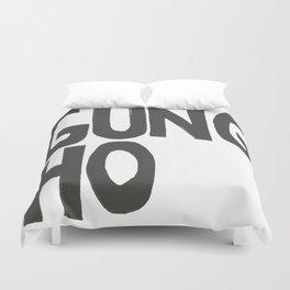 GUNG HO Duvet Cover