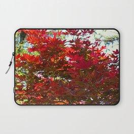 A Fiery Breeze Laptop Sleeve