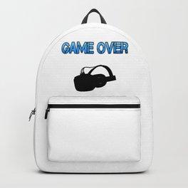 VR Game Over Blue Backpack