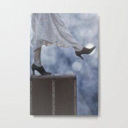 A Step in the Unknown Metal Print