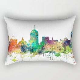 Fresno California Skyline - SP Rectangular Pillow