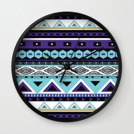 Aztec Pattern No. 11 Wall Clock