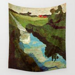 Landscape - Paula Modersohn-Becker Wall Tapestry