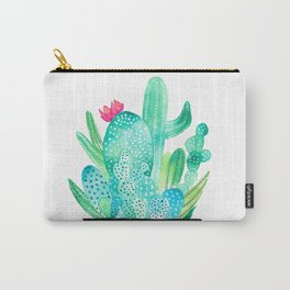 Pot Me A Cacti! Carry-All Pouch