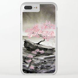 Unbridled Growth Clear iPhone Case