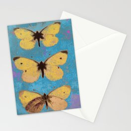 Butterflies on display Stationery Cards